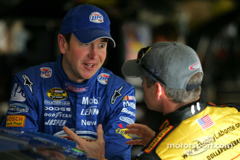 Kurt Busch and Bobby Labonte