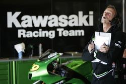 Kawasaki Racing pitbox