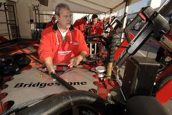 Bridgestone team member at work