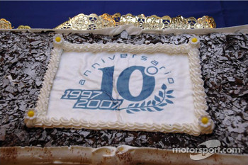Team Gresini celebrates 10th anniversary