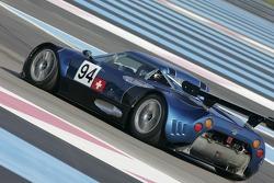 #94 Speedy Racing Team Spyker C8 Spyder GT-R: Iradj Alexander-David, Andrea Chiesa