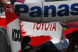 Rear Wing of Toyota TF107