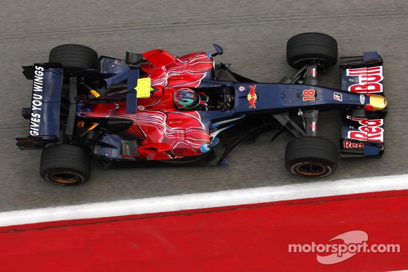 Vitantonio Liuzzi, Scuderia Toro Rosso