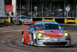 #44 Flying Lizard Motorsports Porsche 911 GT3 RSR: Lonnie Pechnik, Darren Law