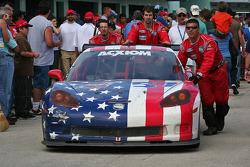 #57 Stevenson Motorsports Corvette