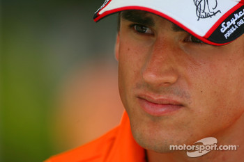 Adrian Sutil, Spyker F1 Team