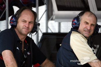 Gerhard Berger and Franz Tost