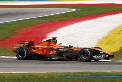 Adrian Sutil, Spyker F1 Team, F8-VII