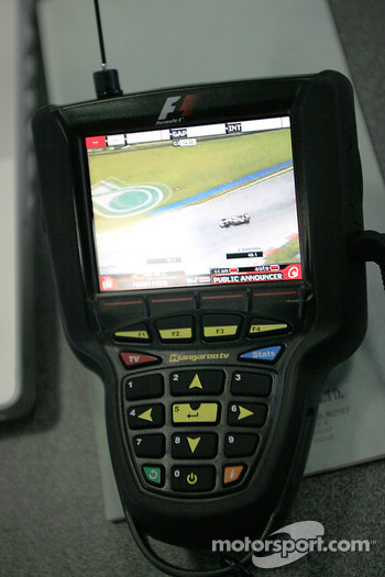 Qualifying action on Kangaroo TV
