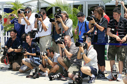 Photographers at work