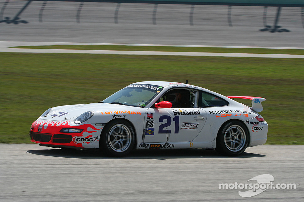 #21 Bodymotion Racing Porsche 997: Michael Bavaro, Jeff Adams, Tony Nuzzo
