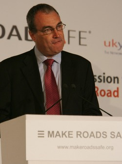 UN Rally for Safer Roads, Dr Stephen Ladyman MP, Minister of State for Transport