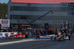 Brandon Bernstein (left) and Doug Kalitta
