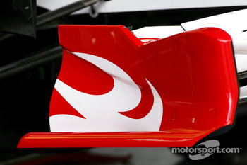 Super Aguri F1 Team front wing
