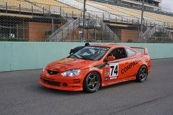 #74 Kensai Racing Acura RSX - S: Matt Pritiko, Daniel Colembie