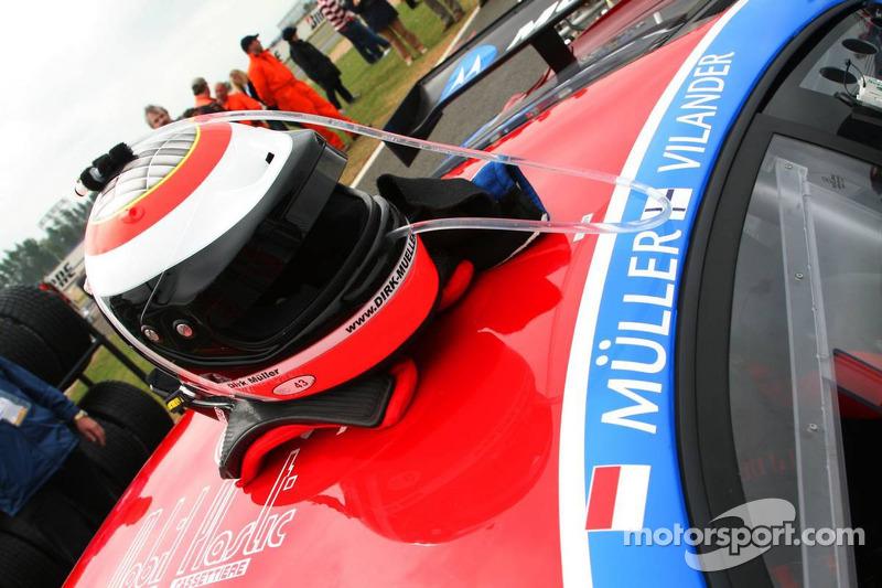 Helmet of Dirk Muller