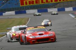#21 Kessel Ferrari 575 Maranello: Loris Kessel, Massimo Cattori