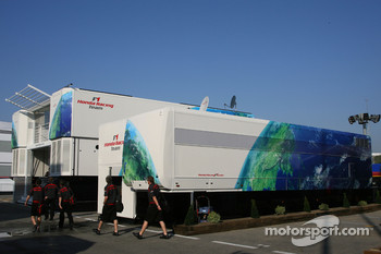 Honda F1 Racing Team, hospitality