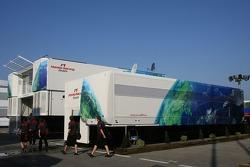 Honda F1 Racing Team, hospitality