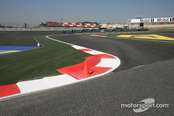 New chicane before the last corner