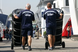 Williams F1 Team members