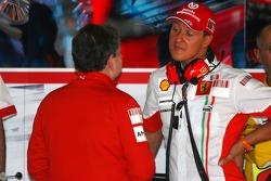 Michael Schumacher, Scuderia Ferrari, Advisor and Jean Todt, Scuderia Ferrari, Ferrari CEO