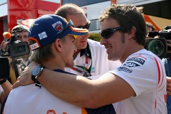 Heikki Kovalainen, Renault F1 Team, Fernando Alonso, McLaren Mercedes
