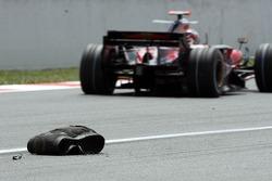 A Bridgestone tyre carcus
