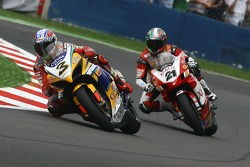 Max Biaggi and Troy Bayliss