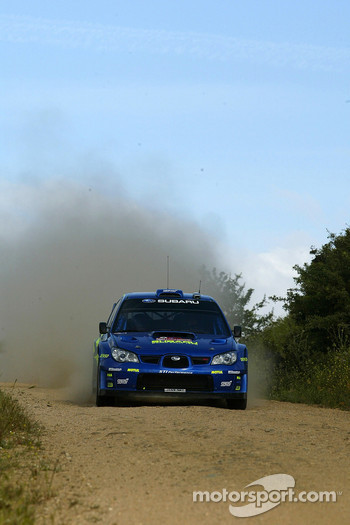Petter Solberg and Phil Mills, Subaru WRT Subaru Impreza 2007 WRC