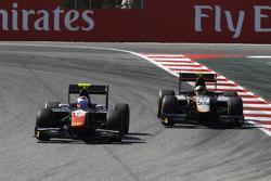Rene Binder, Trident leads Johnny Cecotto, Hilmer Motorsport