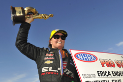 Pro Stock winner Erica Enders-Stevens