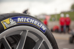 Michelin tire detail