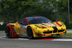 #66 JMW Motorsport Ferrari F458 Italia: George Richardson, Robert Smith, Sam Tordoff