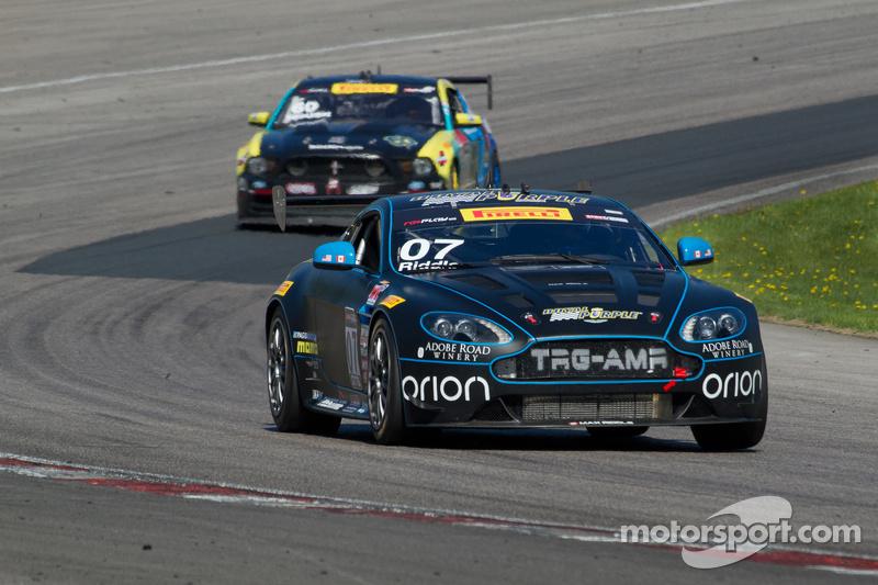 #07 TRG-AMR Aston Martin Vantage GT4: Max Riddle