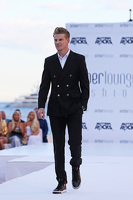 Nico Hulkenberg, Sahara Force India F1 at the Amber Lounge Fashion Show