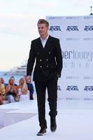 Nico Hulkenberg, Sahara Force India F1 at the Amber Lounge Fashion Show