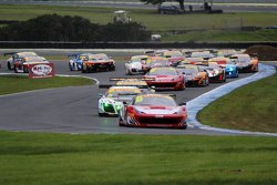 Jono Lester leads the Australian GT field