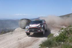 Robert Kubica and Maciek Szczepaniak, Ford Fiesta WRC