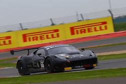 #66 Black Pearl Racing by Rinaldi Racing Ferrari 458 Italia: Steve Parrow, Pierre Kaffer
