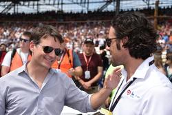 Jeff Gordon and Dario Franchitti