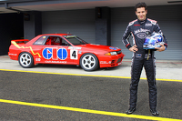 Rick Kelly test drives the R32 Skyline