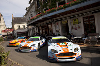 Aston Martin Racing at the Hotel de France