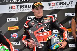 Chaz Davies, Ducati Superbike Team, troisième de la Superpole