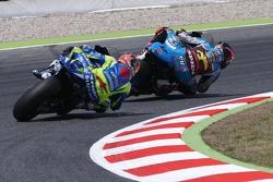 Scott Redding, Marc VDS Racing Honda and Maverick Viñales, Team Suzuki MotoGP