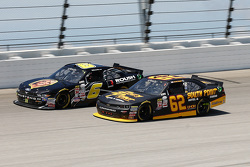 Darrell Wallace Jr., Roush Fenway Racing Ford and Brendan Gaughan, Richard Childress Racing Chevrolet