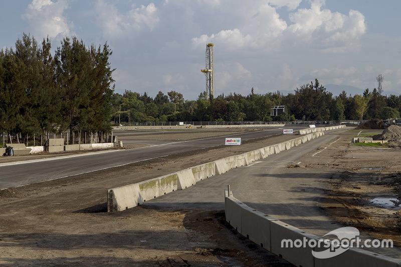 Autódromo Hermanos Rodríguez, zona de las eses