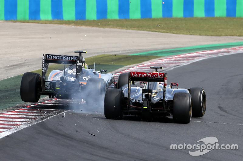 Maldonado vs Perez