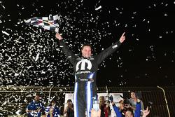Winner Andrew Ranger celebrates his victory