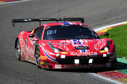 #47 AF Corse Ferrari 458 Italia: Stéphane Lemeret, Pasin Lathouras, Alessandro Pier Guidi, Gianmaria Bruni